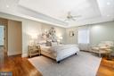 Primary Bedroom - 2443 KALORAMA RD NW, WASHINGTON