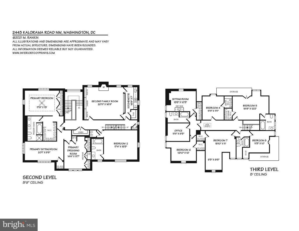 Floor Plan - 2443 KALORAMA RD NW, WASHINGTON