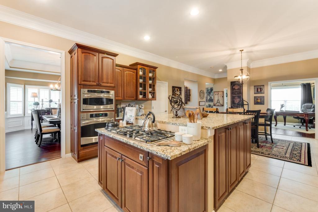 Expansive Gourmet Chefs Kitchen - 42063 MIDDLEHAM CT, ASHBURN