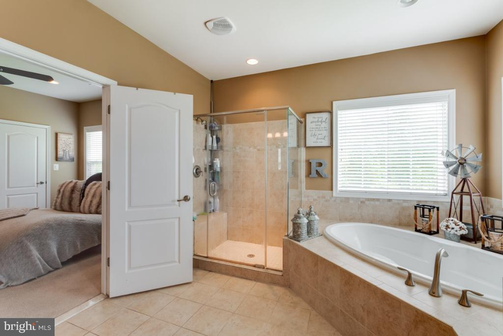 Luxury Owners Suite w/ Sep Shower & Soaking Tub - 42063 MIDDLEHAM CT, ASHBURN