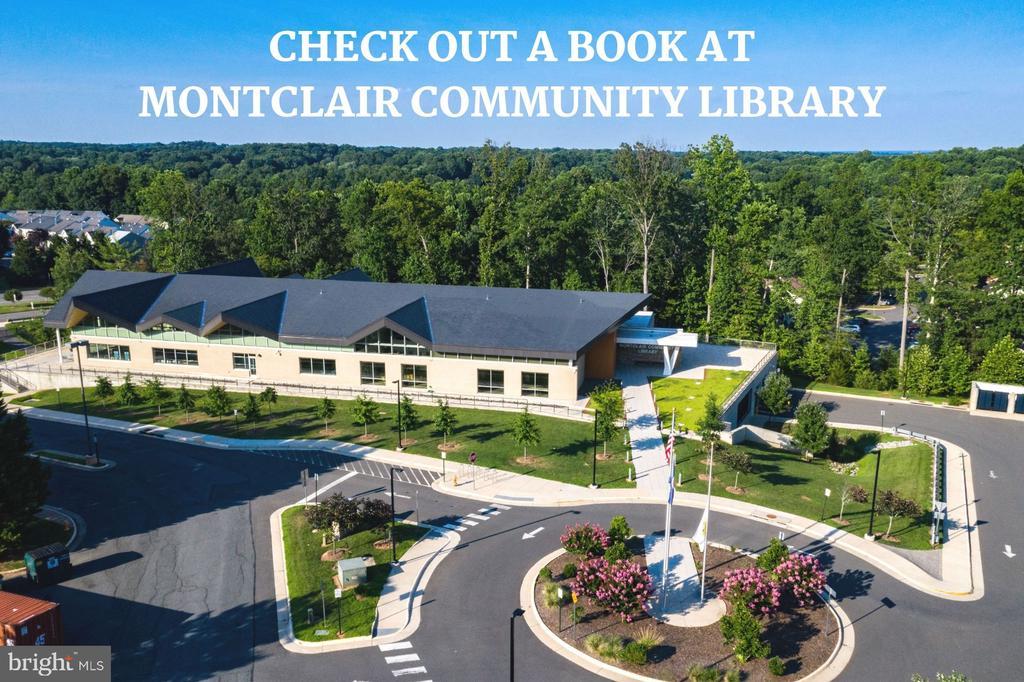 Montclair Public Library - 4290 CANDLESTICK CT, DUMFRIES