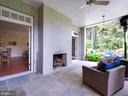 Lower level porch - 4651 35TH ST N, ARLINGTON