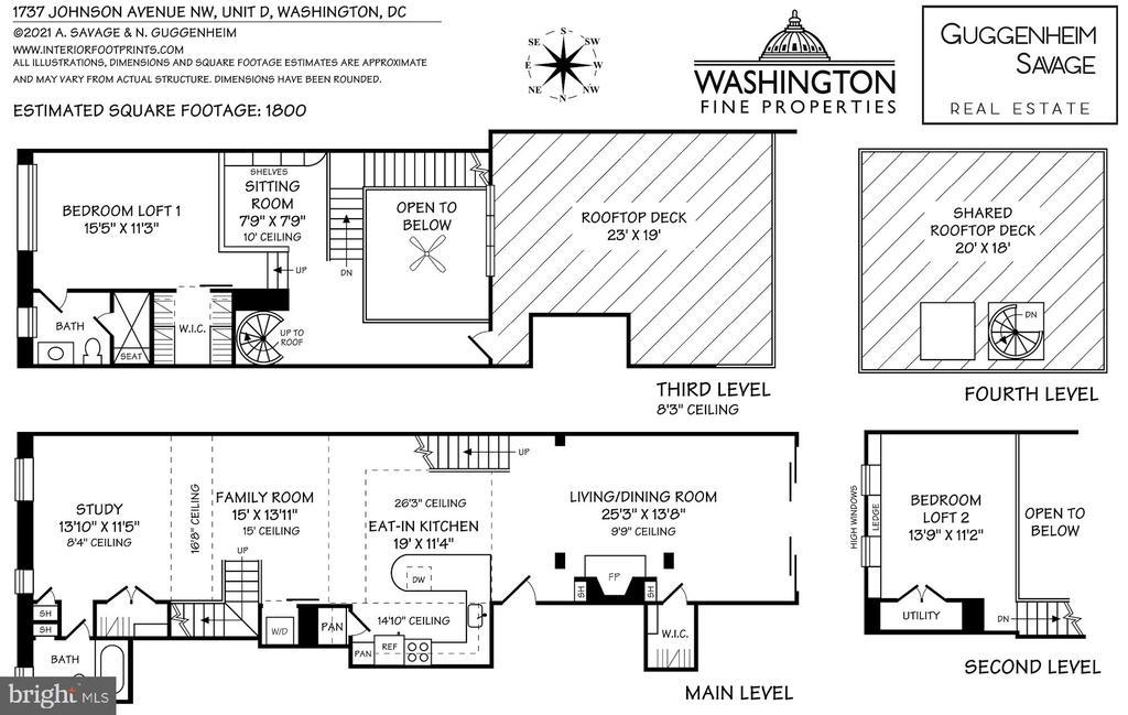 Floor Plan - 1737 JOHNSON AVE NW #D, WASHINGTON