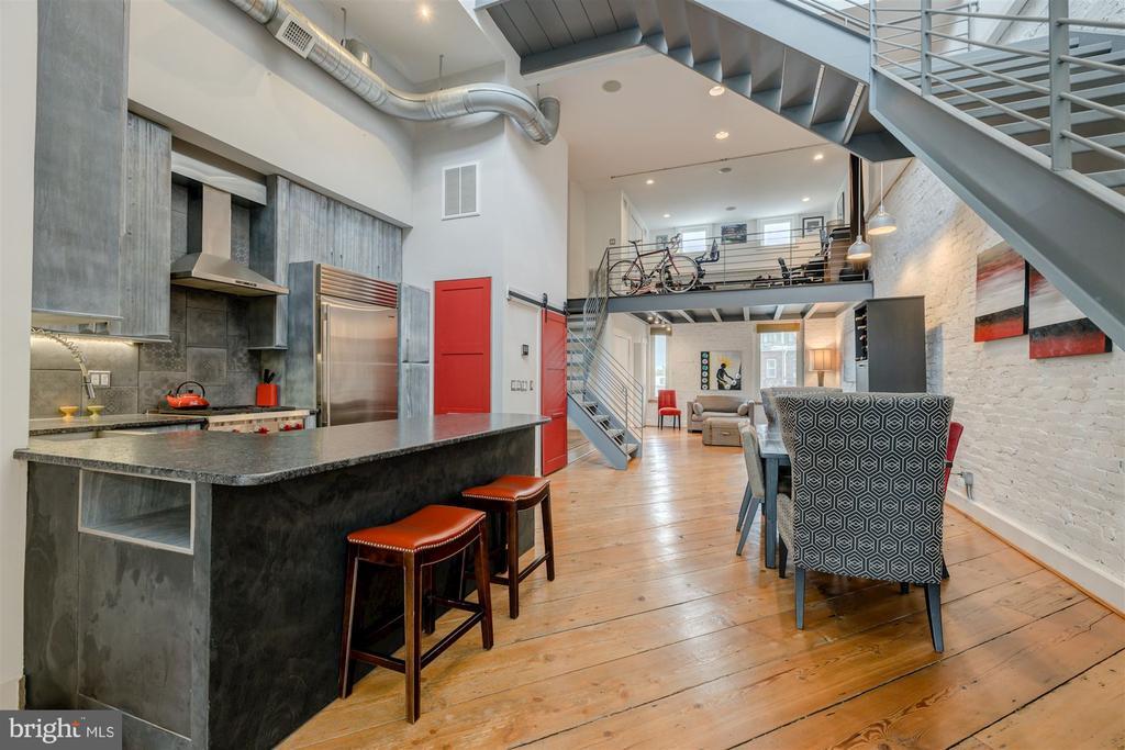 Eat-In Kitchen - 1737 JOHNSON AVE NW #D, WASHINGTON