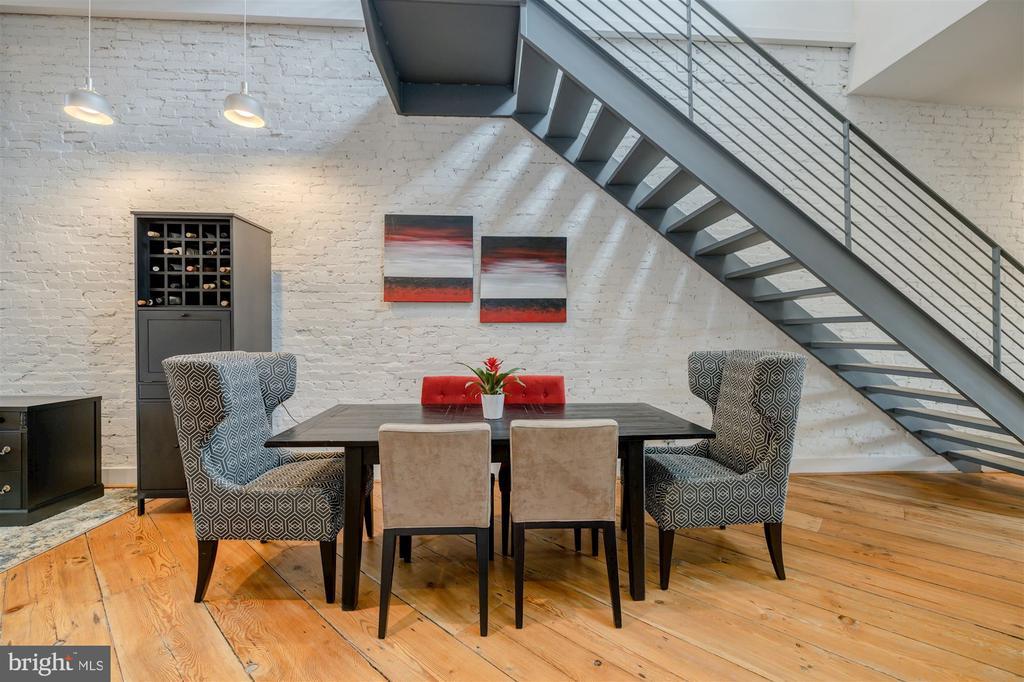 Dining Area Off Kitchen - 1737 JOHNSON AVE NW #D, WASHINGTON