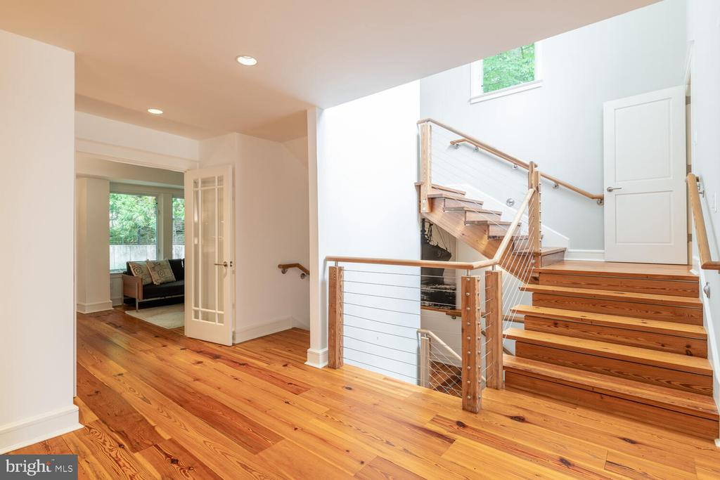 Area prepped for an elevator to all three floors - 5075 POLK AVE, ALEXANDRIA