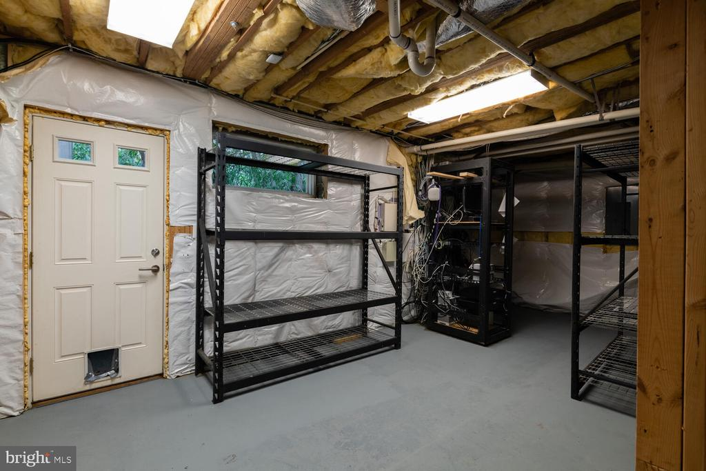 Basement storage space - 5075 POLK AVE, ALEXANDRIA