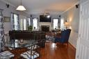 Kitchen opens to beautiful familiy room - 6304 SPRING FOREST RD, FREDERICK