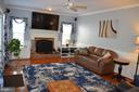 Built-ins & surround sound speakers/wiring remain - 6304 SPRING FOREST RD, FREDERICK
