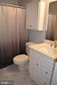 A 3rd full bath on upper level with updated vanity - 6304 SPRING FOREST RD, FREDERICK