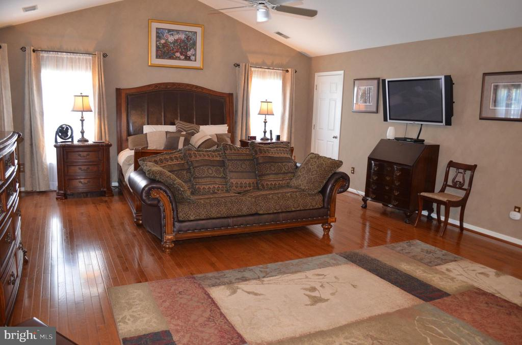 Mounted Owner's suite TV remains for you! - 6304 SPRING FOREST RD, FREDERICK