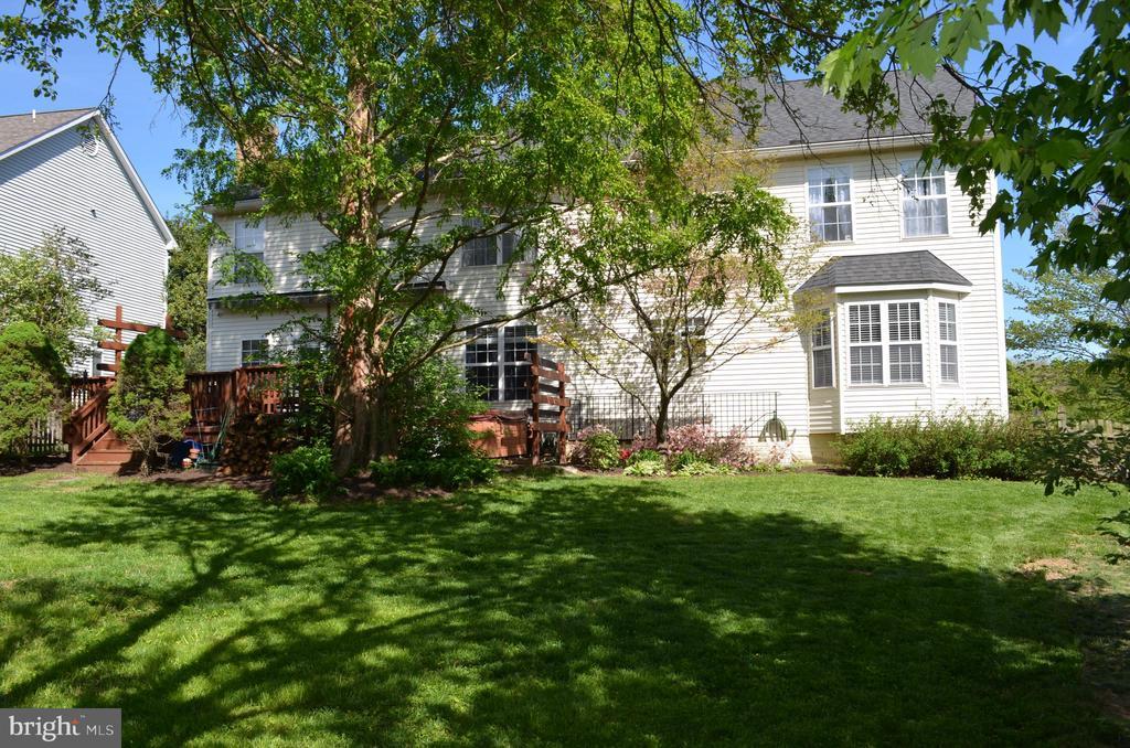 Enjoy the back yard! - 6304 SPRING FOREST RD, FREDERICK