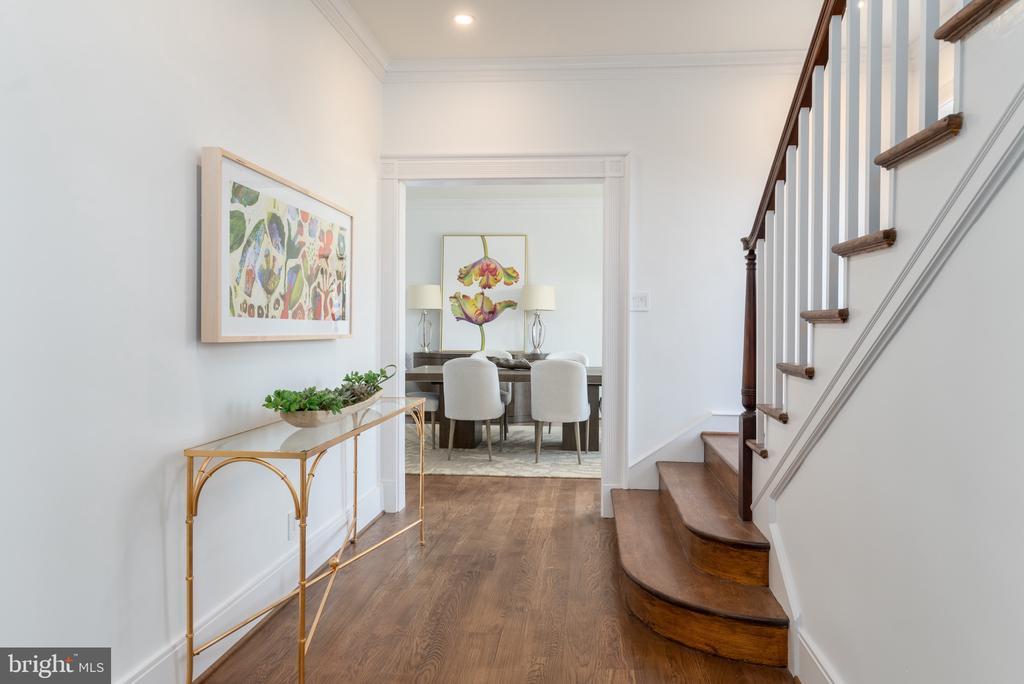 Hallway to Dining Room - 3015 WHITEHAVEN ST NW, WASHINGTON