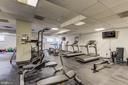 gym, included in condo fees - 2111 WISCONSIN AVE NW #501, WASHINGTON