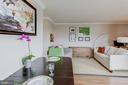 living area - 2111 WISCONSIN AVE NW #501, WASHINGTON