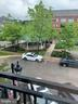 Gazebo view from balcony off Family Room - 9020 LORTON STATION BLVD #1-114, LORTON