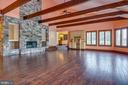 Great Room Soaring Ceiling - 8250 OLD COLUMBIA RD, FULTON
