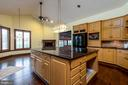 Updated main house kitchen - 8250 OLD COLUMBIA RD, FULTON