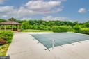 pool overlooking private avreage - 8250 OLD COLUMBIA RD, FULTON