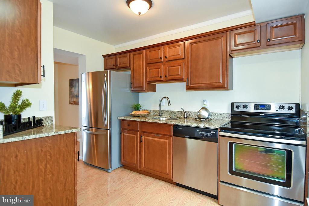 Ample cabinet space w/stainless steel appliances! - 6463 FENESTRA CT #50C, BURKE