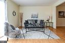 Spacious family room! - 6463 FENESTRA CT #50C, BURKE