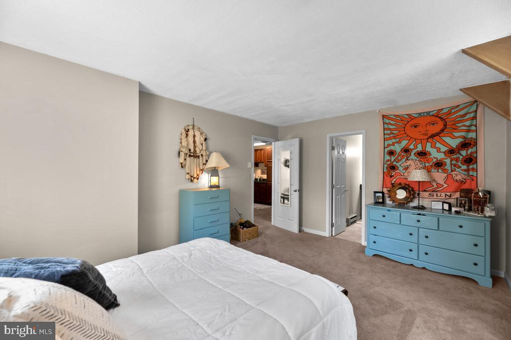 Apartment bedroom w/full bath - 12645 OLD FREDERICK RD, SYKESVILLE