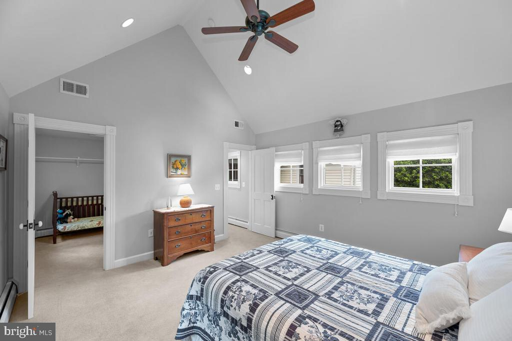 Bedroom #4 with optional nursery - 12645 OLD FREDERICK RD, SYKESVILLE