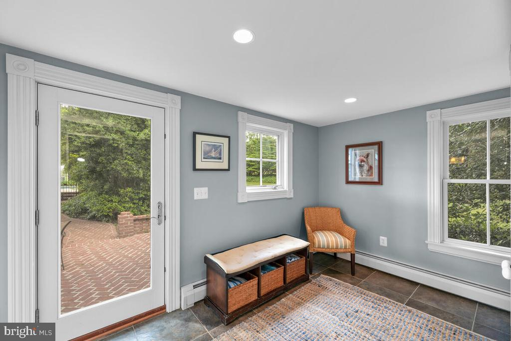 Entrance from pool/changing area - 12645 OLD FREDERICK RD, SYKESVILLE
