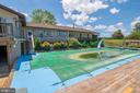 Pool and area around Pool - 721 BATTLEFIELD BLUFF DR, NEW MARKET