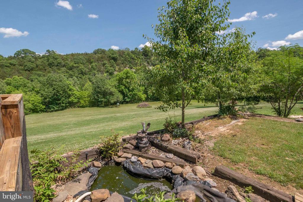 Running Fountain / Pond area - 721 BATTLEFIELD BLUFF DR, NEW MARKET