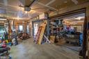 Garage Area / Workshop Area - 721 BATTLEFIELD BLUFF DR, NEW MARKET