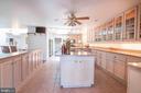 Full View of the Custom Kitchen - 721 BATTLEFIELD BLUFF DR, NEW MARKET