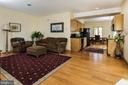 Guest House: Sitting Rm, Kitchen, Dining - 20022 TRAPPE RD, BLUEMONT