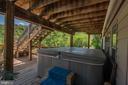 Hot Tub area - 721 BATTLEFIELD BLUFF DR, NEW MARKET