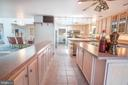 Length View of the Kitchen - 721 BATTLEFIELD BLUFF DR, NEW MARKET