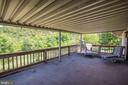 Covered Porch out from Living Room - 721 BATTLEFIELD BLUFF DR, NEW MARKET