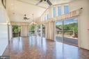 Solarium / Florida Room off Kitchen are - 721 BATTLEFIELD BLUFF DR, NEW MARKET