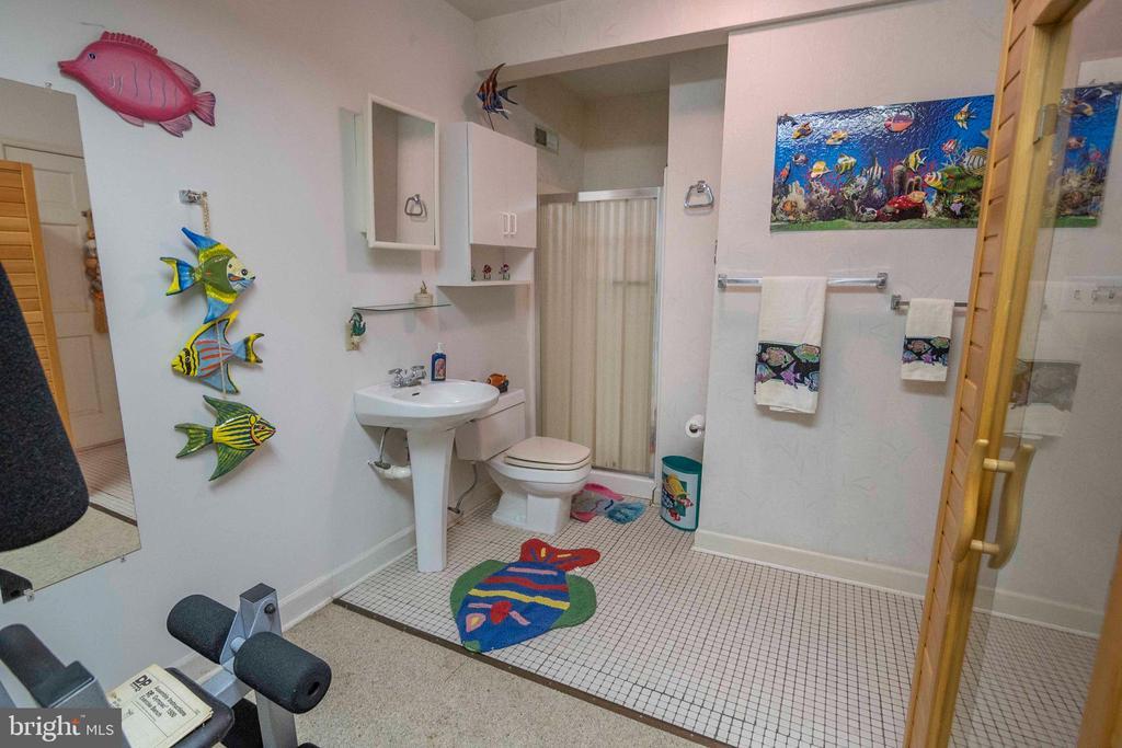 Lower Level Bathroom - 721 BATTLEFIELD BLUFF DR, NEW MARKET