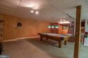 Game Room in Lower Level - 721 BATTLEFIELD BLUFF DR, NEW MARKET