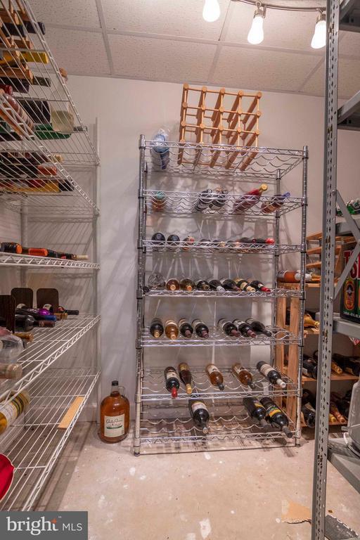 Wine Storage Closet - 721 BATTLEFIELD BLUFF DR, NEW MARKET