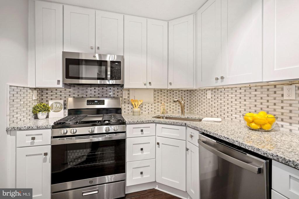 Gourmet kitchen - 4600 S FOUR MILE RUN DR #1007, ARLINGTON