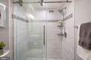 Barn-style sliding glass door - 4600 S FOUR MILE RUN DR #1007, ARLINGTON