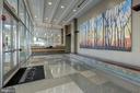 Renovated lobby! - 4600 S FOUR MILE RUN DR #1007, ARLINGTON