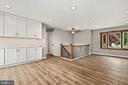 Kitchen into gathering and entry way! - 23 MEADOW LN, THURMONT