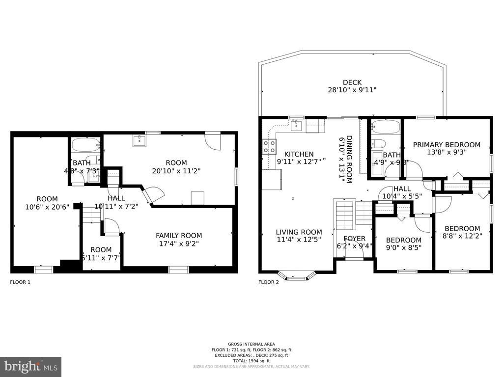 Love this 3D floor plan! - 23 MEADOW LN, THURMONT