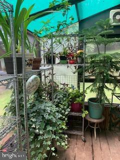 Greenhouse off of garage - 11619 VALLEY RD, FAIRFAX
