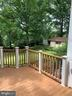 Deck off of great room and kitchen - 11619 VALLEY RD, FAIRFAX