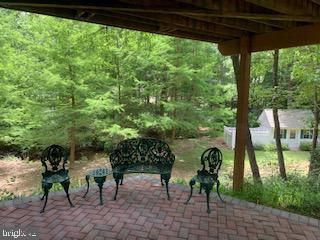 Lower level bonus room walks out to  shaded patio - 11619 VALLEY RD, FAIRFAX