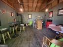 Bar, Barstools & Kegerator & Window A/C Convey! - 23039 RAPIDAN FARMS DR, LIGNUM