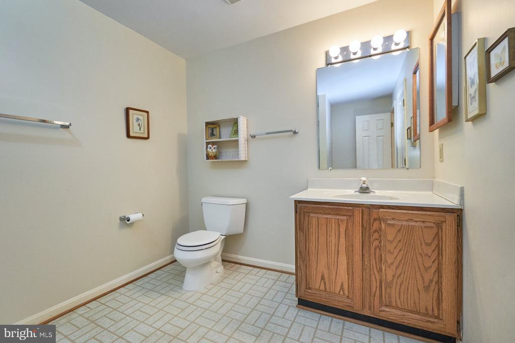 Lower level bath - 10824 HENDERSON RD, FAIRFAX STATION